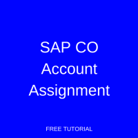 SAP CO Account Assignment