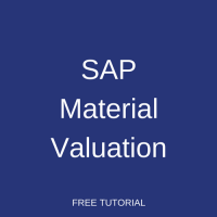 SAP Material Valuation