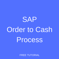SAP Order to Cash Process Tutorial