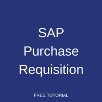SAP Purchase Requisition