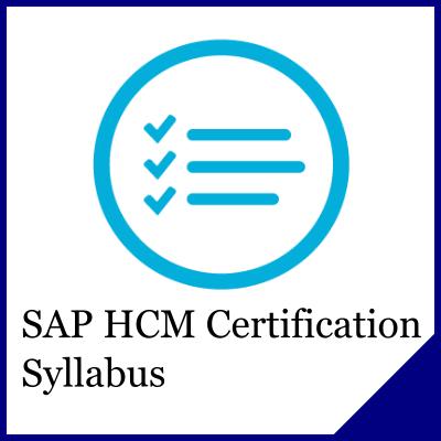 SAP HR Certification Syllabus