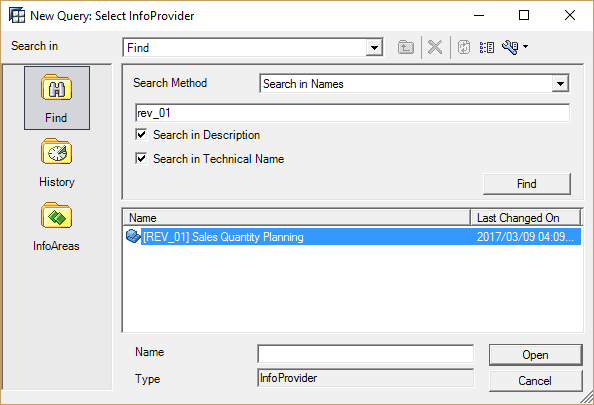 Create Query on Aggregation Level
