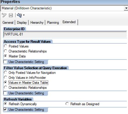 Characteristic Properties (Material)