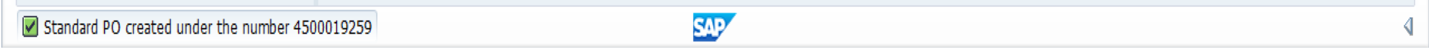 SAP Purchase Order Created with a Reference to SAP Purchase Requisition without Material Master Record