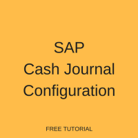 SAP Cash Journal Configuration