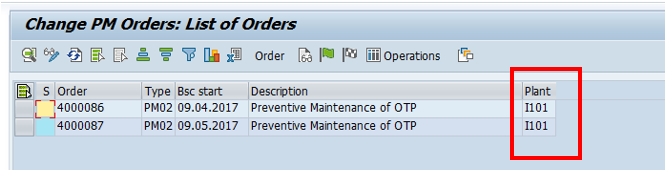 Modified List of PM Orders