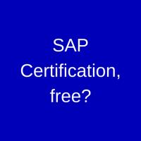Free SAP Certification