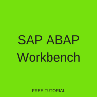 SAP ABAP Workbench