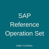 SAP Reference Operation Set