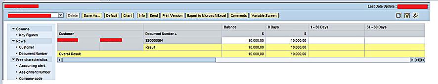 SAP BEx Web Analyzer