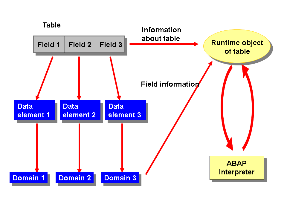 Using Data Dictionary Objects in Runtime