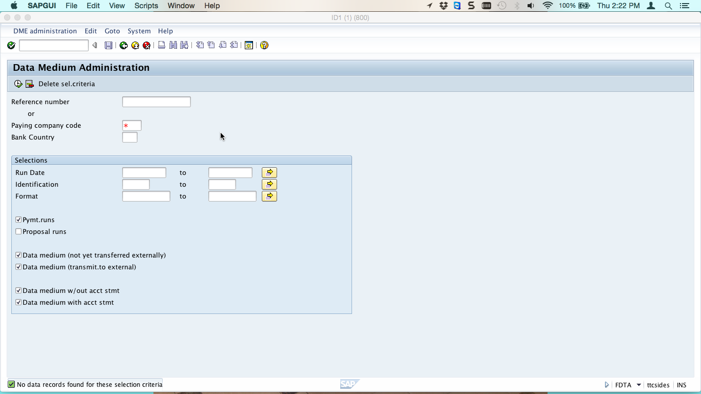 SAP Payment Medium Workbench Tutorial - Free SAP FI Training