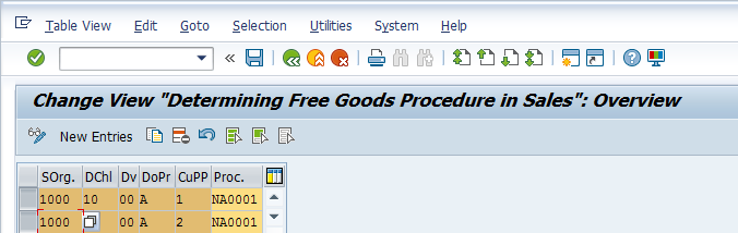 SAP Free Goods – Activation of Free Goods (Example)