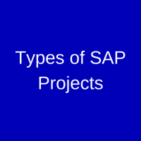 Types of SAP Projects