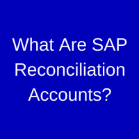 SAP Reconciliation Account