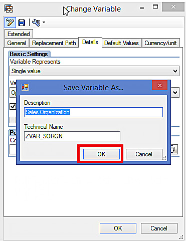 Saving Variable