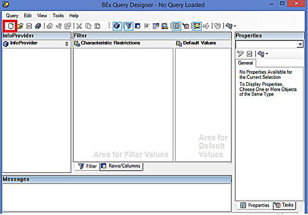 SAP BEx Query Designer