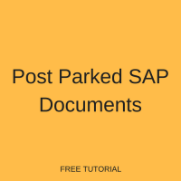 Post Parked SAP Documents