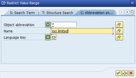 Figure 15: Organizational Unit Search Help