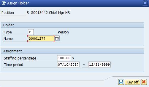 Figure 26: Enter Personnel Number
