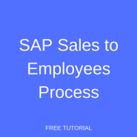 SAP Sales to Employees Process