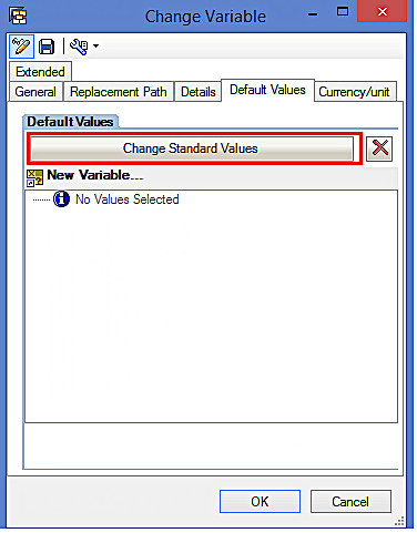 Choosing the Default Hierarchy for Hierarchy Variable (2)