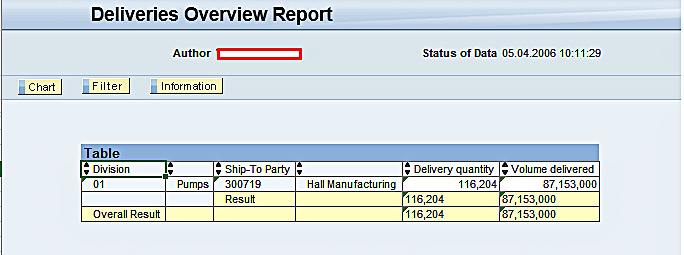 Report Output