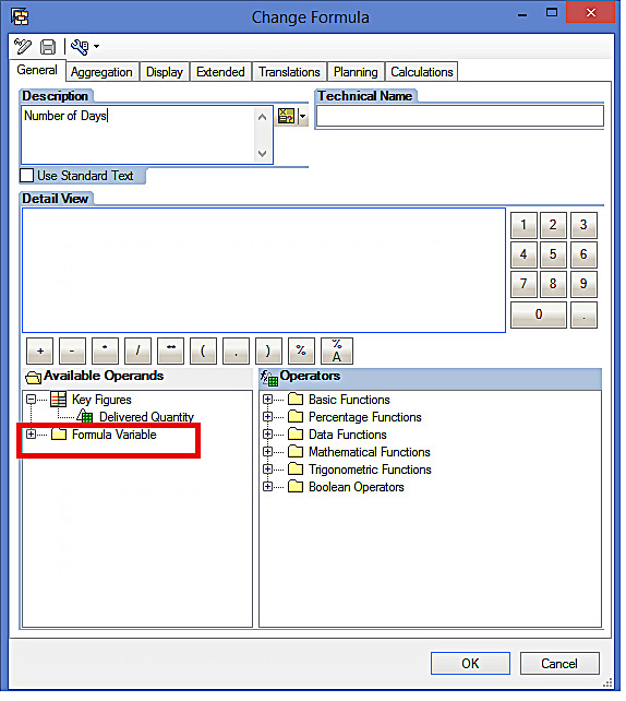 Creating a New SAP BW Formula Variable (1)
