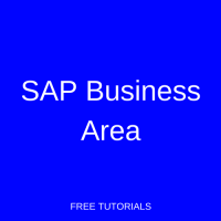 SAP Business Area