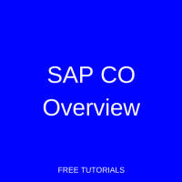 SAP CO Overview