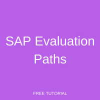 SAP Evaluation Paths