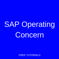 SAP Operating Concern