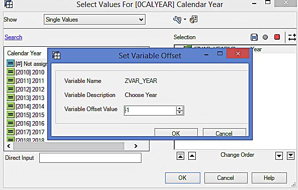 Selecting Variable Offset Value (1)