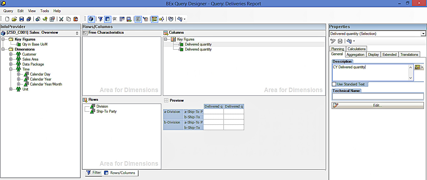 Creating Placeholder for Current and Previous Year Delivered Quantity Key Figures (1)
