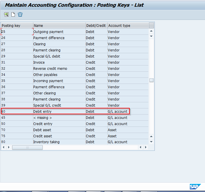 SAP Posting Key Configuration Tutorial - Free SAP FI Training