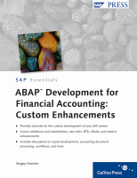 ABAP Development for Financial Accounting - Custom Enhancements