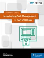 Introducing Cash Management in SAP S 4HANA