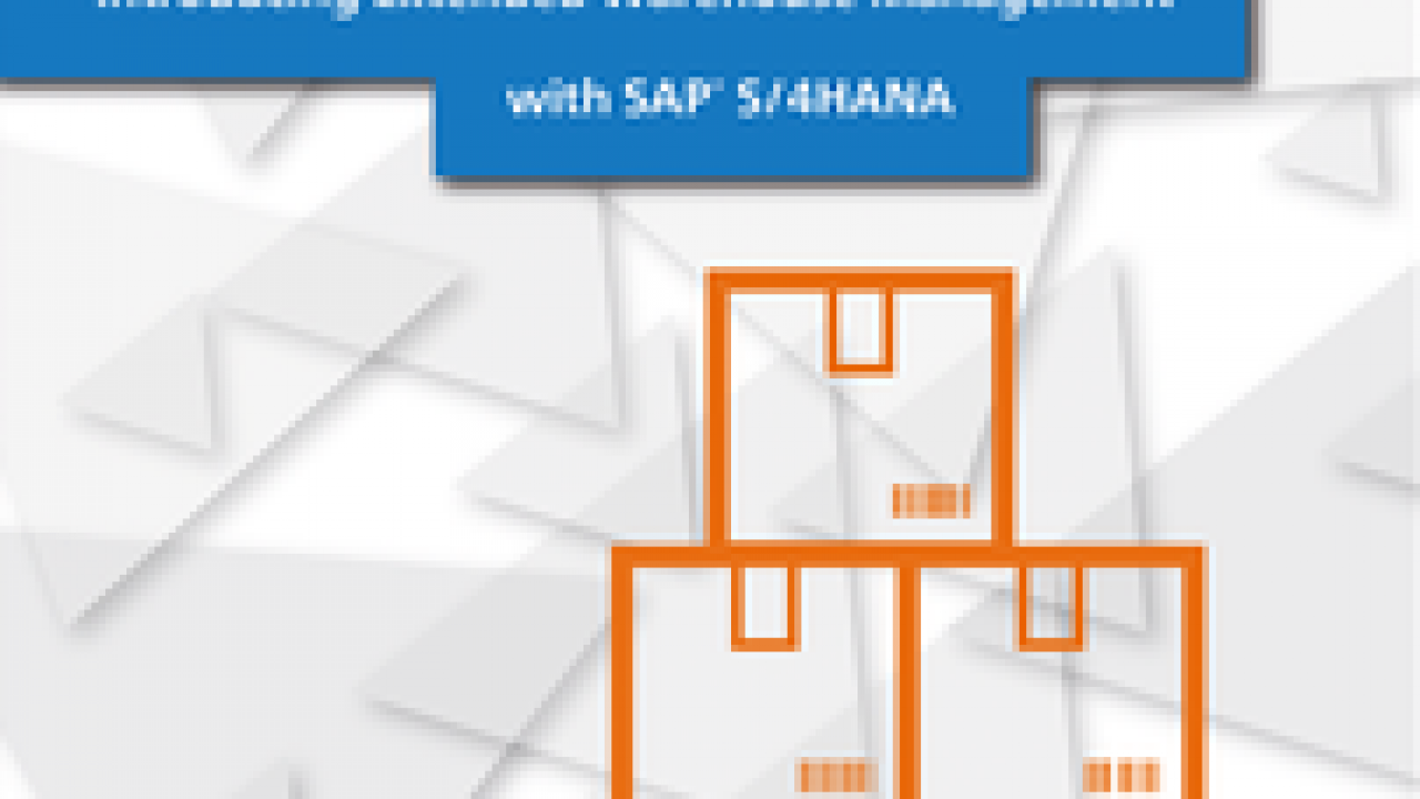 Introducing Extended Warehouse Management with SAP S/4HANA - SAP S