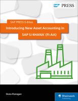 Introducing New Asset Accounting in SAP S 4HANA (FI-AA)