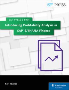 Introducing Profitability Analysis in SAP S 4HANA Finance