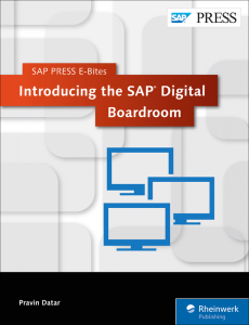 Introducing the SAP Digital Boardroom