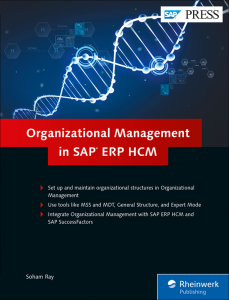 Organizational Management in SAP ERP HCM