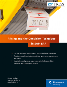 Pricing and the Condition Technique in SAP ERP
