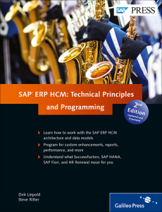 SAP ERP HCM Technical Principles and Programming