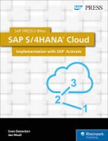 SAP S 4HANA Cloud Implementation with SAP Activate