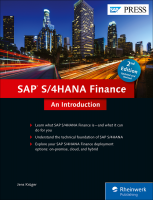 SAP S 4HANA Finance An Introduction