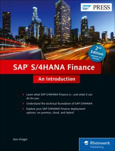 SAP S 4HANA Finance An Introduction