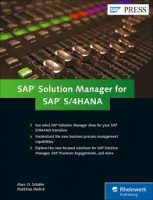 SAP Solution Manager for SAP S 4HANA
