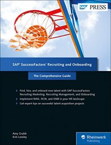 SAP SuccessFactors Recruiting and Onboarding The Comprehensive Guide