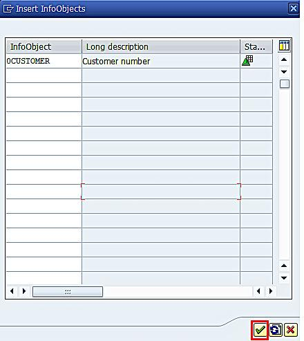Adding InfoObjects to Dimension of InfoCube (3)